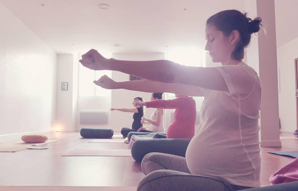 yoga prenatal nathalie goldstein